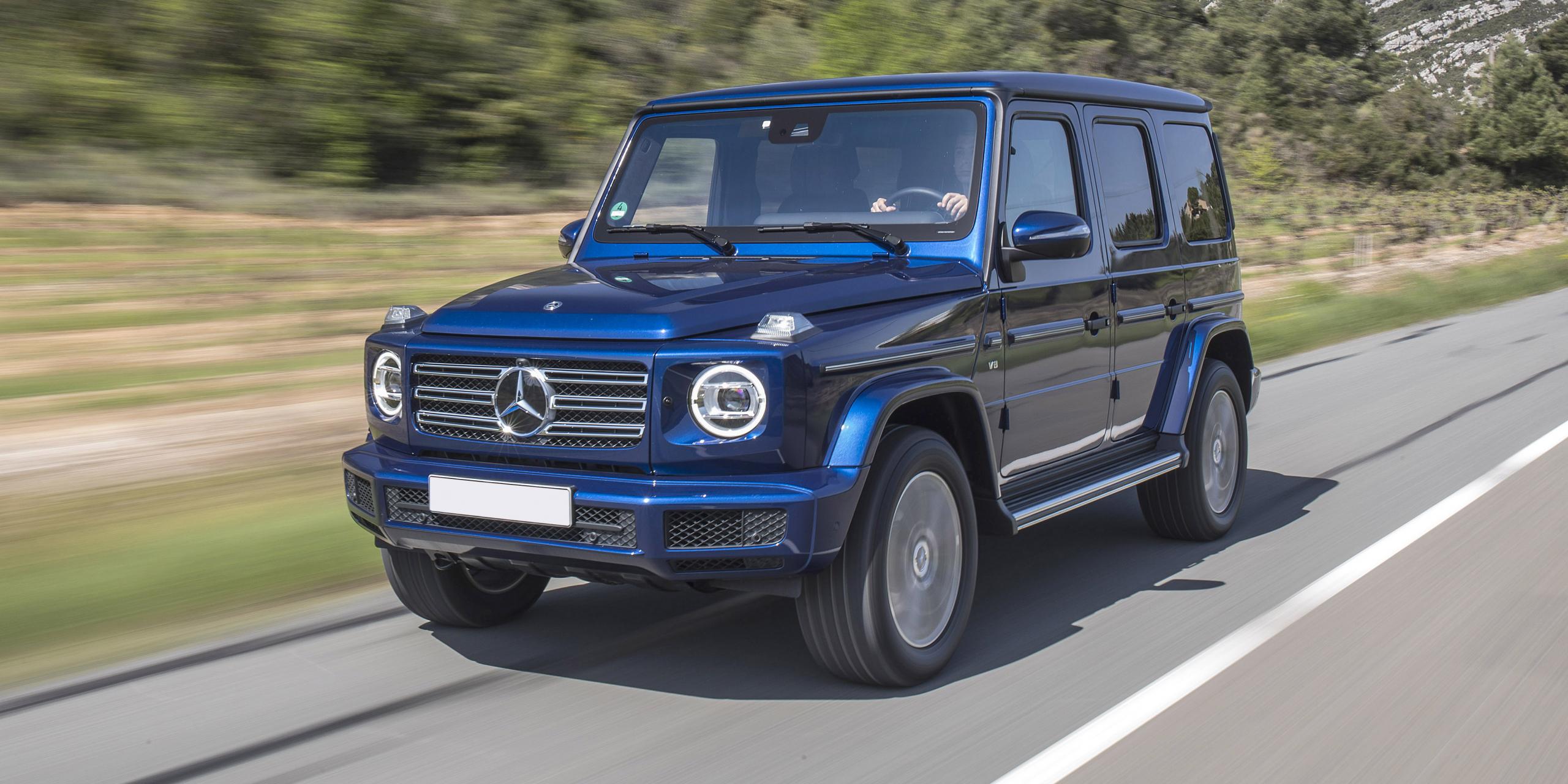 4. Mercedes G-Class