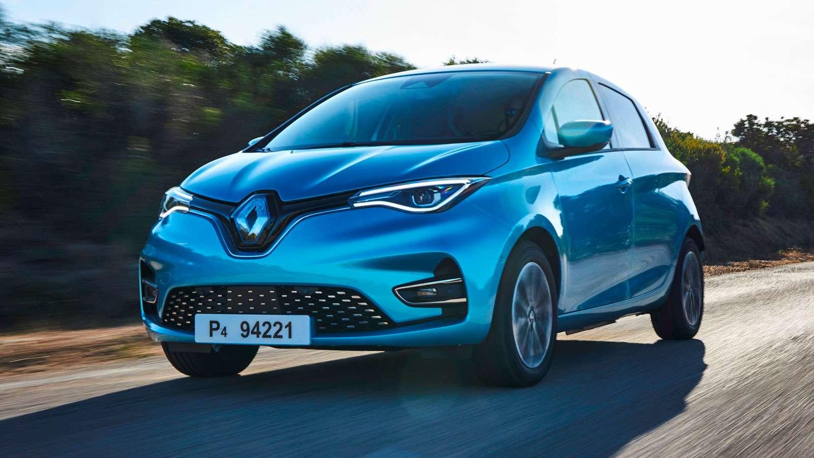 Renault ZOE desde 22.189 € con MOVES III